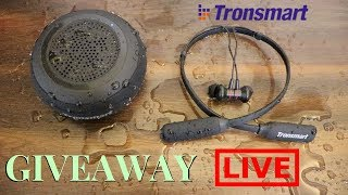 Giveaway Live !! | Tech Unboxing