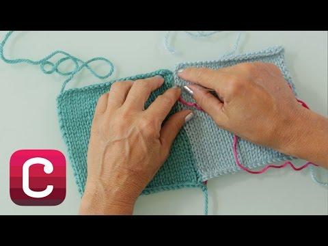 Mattress Stitch with Debbie Stoller | Creativebug