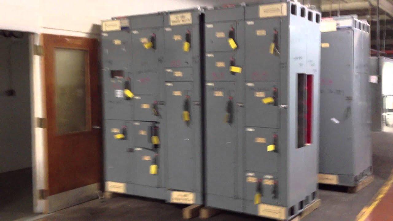 Allen Bradley 2100 Series Motor Control Centers At Nas