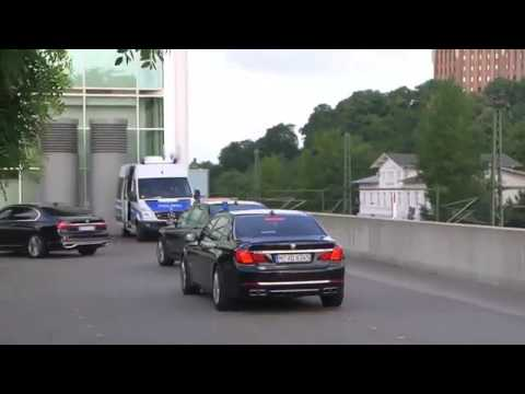 G20 Summit Leaders Arrival At Summit in Hamburg, Germany (DAY 2)