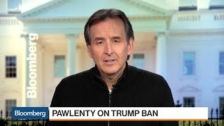 Tim Pawlenty on Trump Ban: Not a Permanent Moratorium