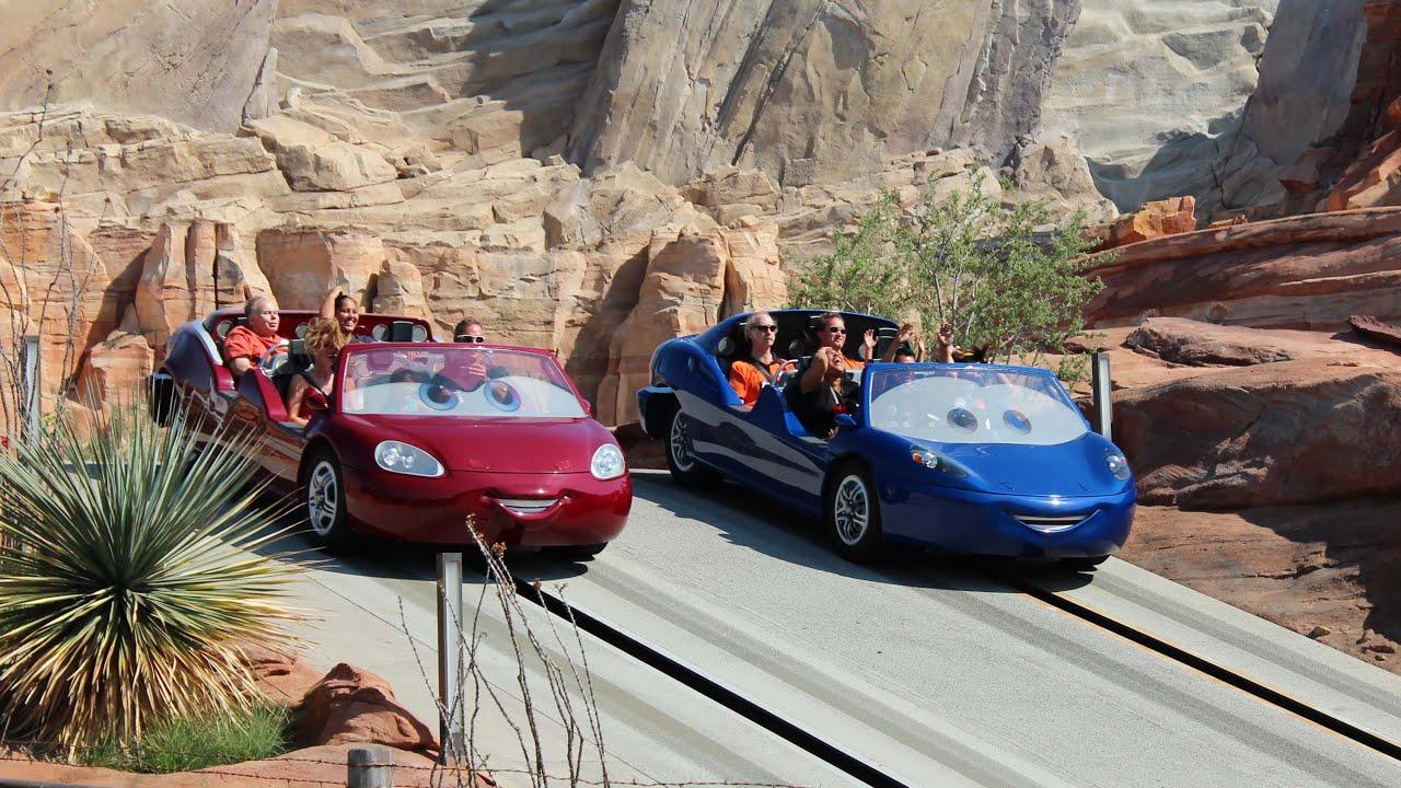 Radiator Springs Racers POV HD 1080p - Full Ride, Cars Land, Disney ...