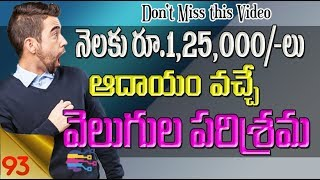 Business ideas in telugu | Earn Profits from Home LED bulb Making business - 93