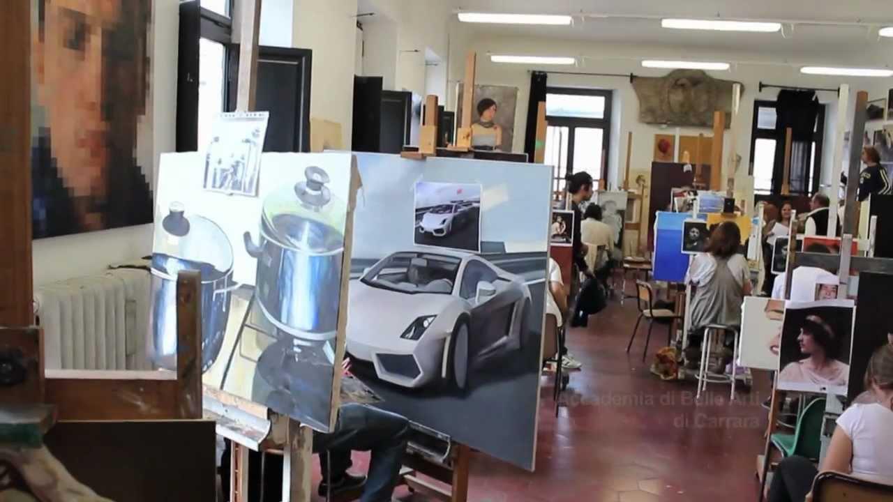 Presentazione accademia di belle arti di carrara by for Accademia belle arti design