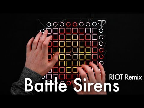 Knife Party & Tom Morello - Battle Sirens RIOT Remix  Launchpad Cover