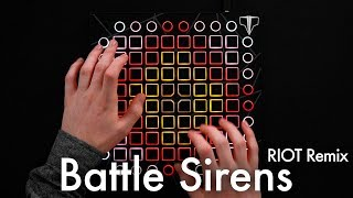 Knife Party & Tom Morello - Battle Sirens (RIOT Remix) // Launchpad Cover