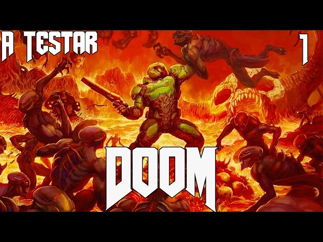 A Testar - Doom (Open Beta) - Team Deathmatch - Caganita de demonio