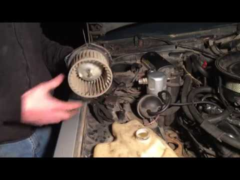 1985 Oldsmobile Delta 88 heater core removal