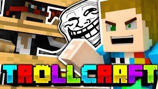 Minecraft | TRAPPING SPARKLEZ TROLL!! - Troll Craft