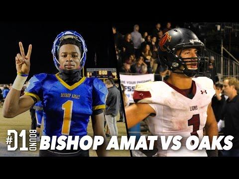 Bishop Amat vs Oaks Christian (61-40): HS Football Pac-5 Playoffs Mixtape - CollegeLevelAthletes.com