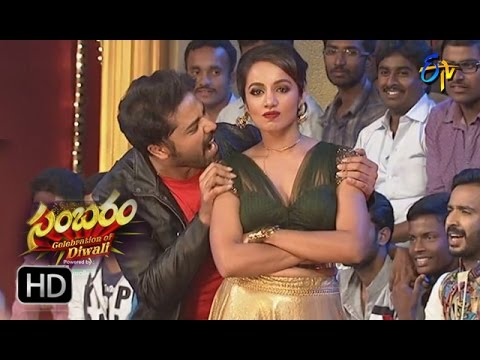 Nandu & Teju Dance Performance | ETV Diwali Sambaram | 30th October 2016 | ETV Telugu