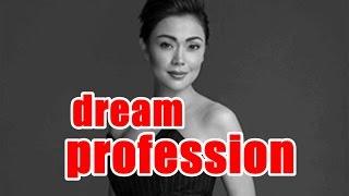 What's Jodi Sta. Maria's dream profession?