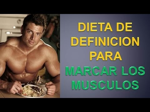 Dieta para marcar los musculos dieta definicion muscular for Dieta definicion