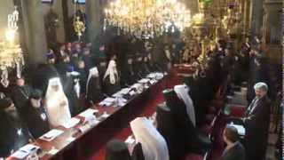 Orthodox Council - Constantinople, march 2014
