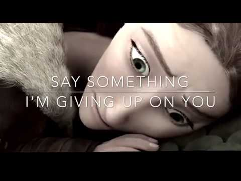 Say Something; Animated Version
