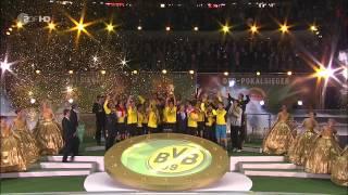 DFB-POKALFINALE 2012 [HD]KOMPLETTE SIEGEREHRUNG/Supercup 2012/BVB - Bayern/5:2/Berlin