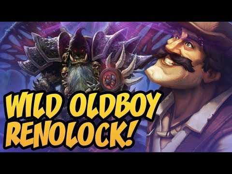 Wild Basics Renolock! | 8-0 Vs Mage | Saviors Of Uldum | Hearthstone