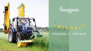 Šienapjovės Pronar PDD830 6 m (2x3 m) ir PDF300