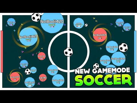 NEW AGARIO GAMEMODE: SOCCER!!! GOAAAAAAAAL (Agar.io #119 | Mitos.is) from YouTube · Duration:  16 minutes 4 seconds
