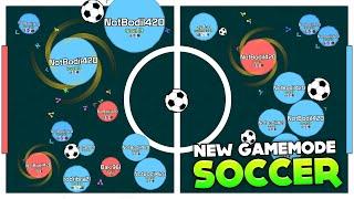 NEW AGARIO GAMEMODE: SOCCER!!! GOAAAAAAAAL (Agar.io #119 | Mitos.is)