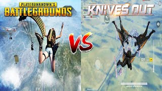 PUBG Mobile VS Knives Out Comparison Android 2019. Which one is best?
