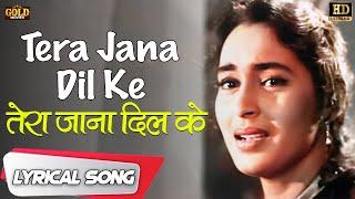 Tera Jana Dil Ke / तेरा जाना दिल के English Lyrics - Lata Mangeshkar | Raj Kapoor, Nutan.