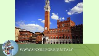 SPC Study Abroad - Italy Spring Break Faculty Message: Timothy Wolter