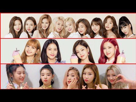 K-Pop Girl Group Brand Reputation Rankings for August 2019 (Top 30)
