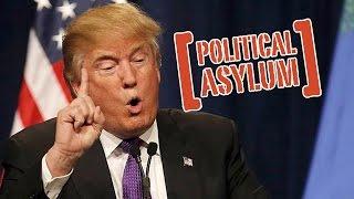 Политическое убежище в США после победы Трампа.Дружба с Путиным