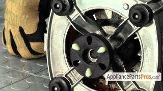 Washer Motor Coupling (part #285753A) - How To Replace