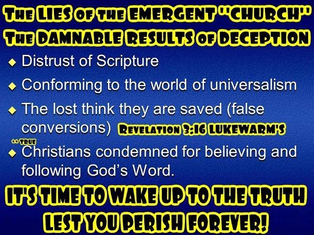 Seeker Sensitive Emergent Church Playbook - Exposing The Emergent