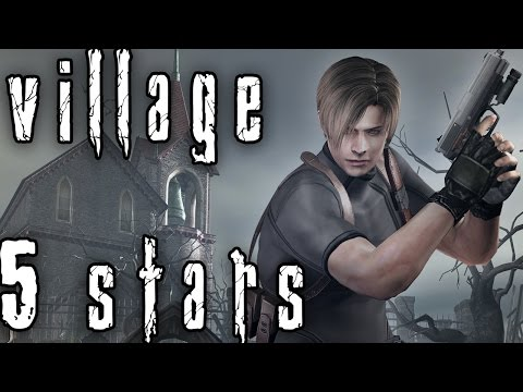 Resident Evil 4 Mercenaries: Leon - Village 5 Stars (Commentary)