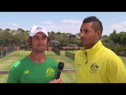 How well do our Davis Cup team know each other? | Davis Cup Australia v Czech Republic