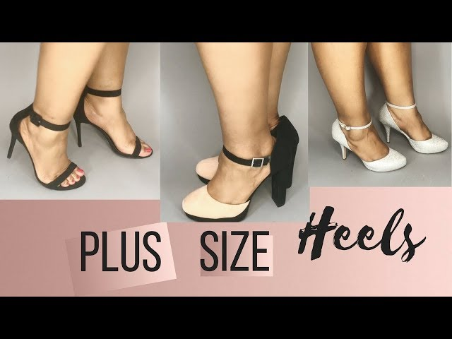 Plus Size Heels | Where to Buy Wide
