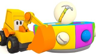 Развивающие мультики для детей - Экскаватор Мася. Веселая карусель - Инструменты