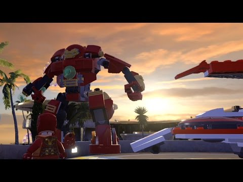 LEGO Marvel's Avengers - Malibu - Open World Free Roam Gamep