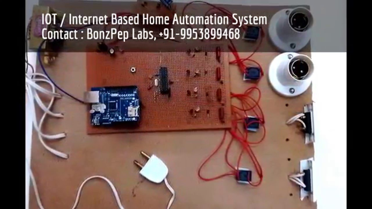 Latest Electronics Projects For B-Tech & M-Tech Students - YouTube