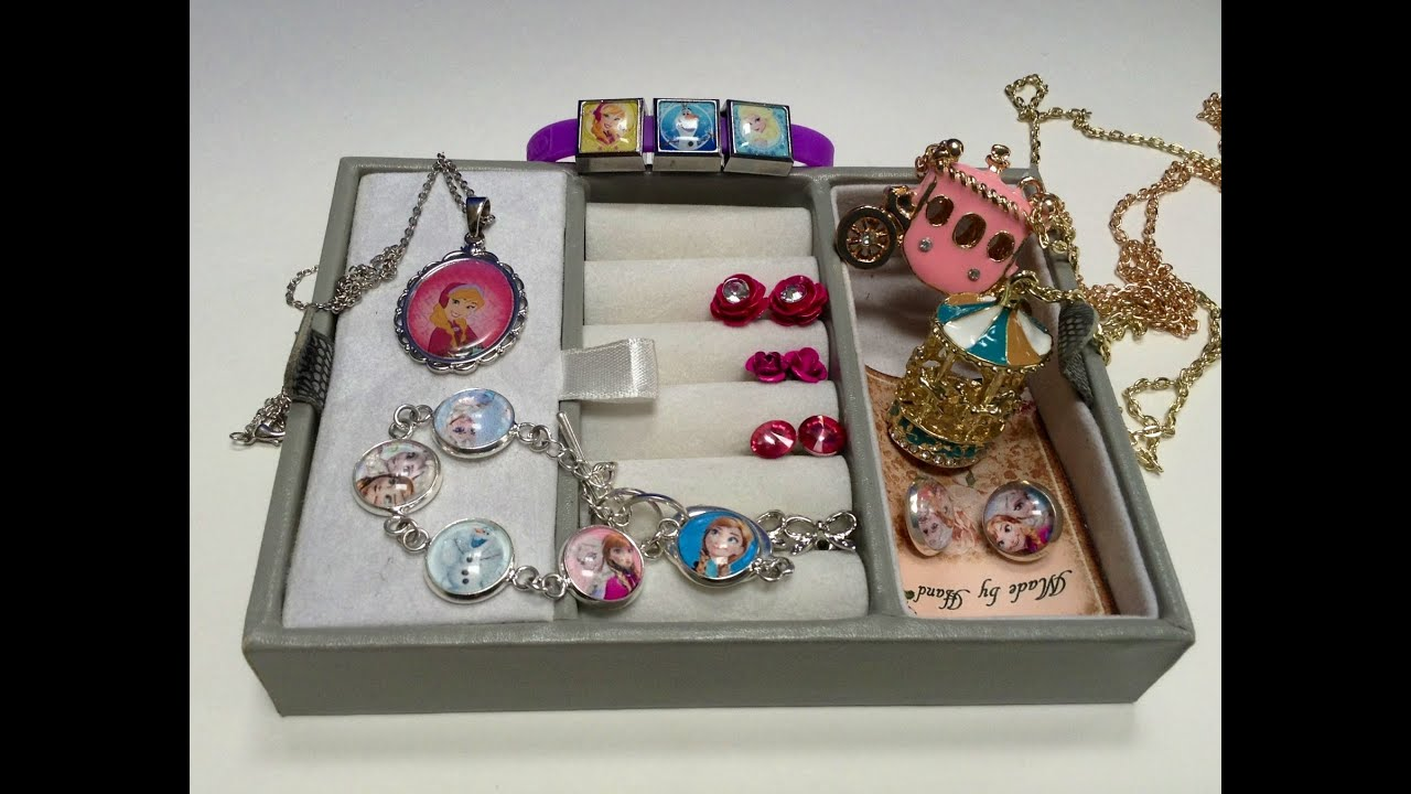Disney Frozen Elsa Anna Jewelry Box Surprise YouTube