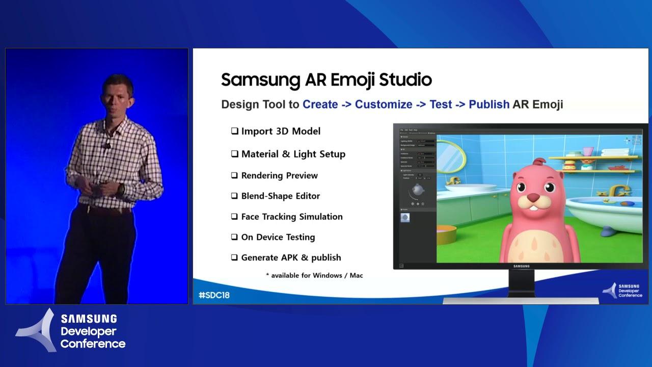 Samsung AR Emoji Studio: Create and Market New Avatars
