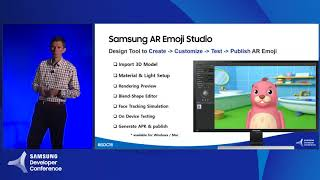 Samsung AR Emoji Studio: Create and Market New Avatars