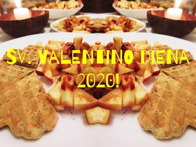 #party 2020 Happy Valentins Day! / Mūsų šeimos Širdučių diena / Vegan Pipiras