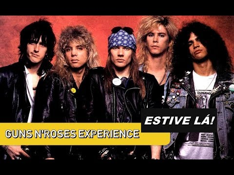 Estive lá – Guns N'Roses Experience (SP)