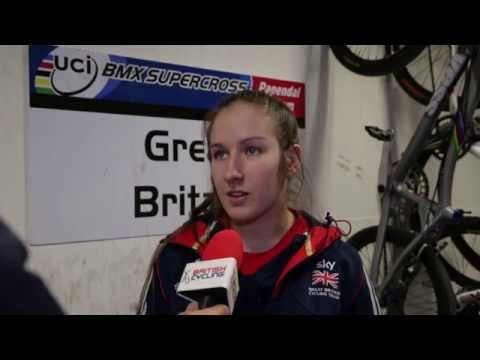 Charlotte Green out to improve UCI BMX Supercross World Cup ranking