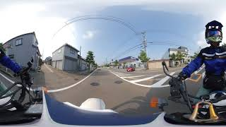 オフロードバイク360度動画テスト2(suzuki sx200r insta360 one x)