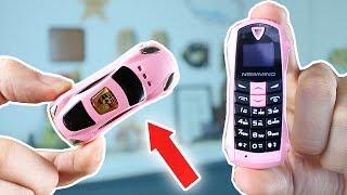 Cette mini Voiture est un Téléphone Portable !