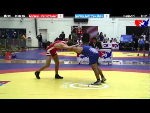 Schultz MFS 60 KG Champ. Round 2: Andrew Hochstrasser (Bronco WC) vs. Nurlan Turarbek Uulu (KGZ)