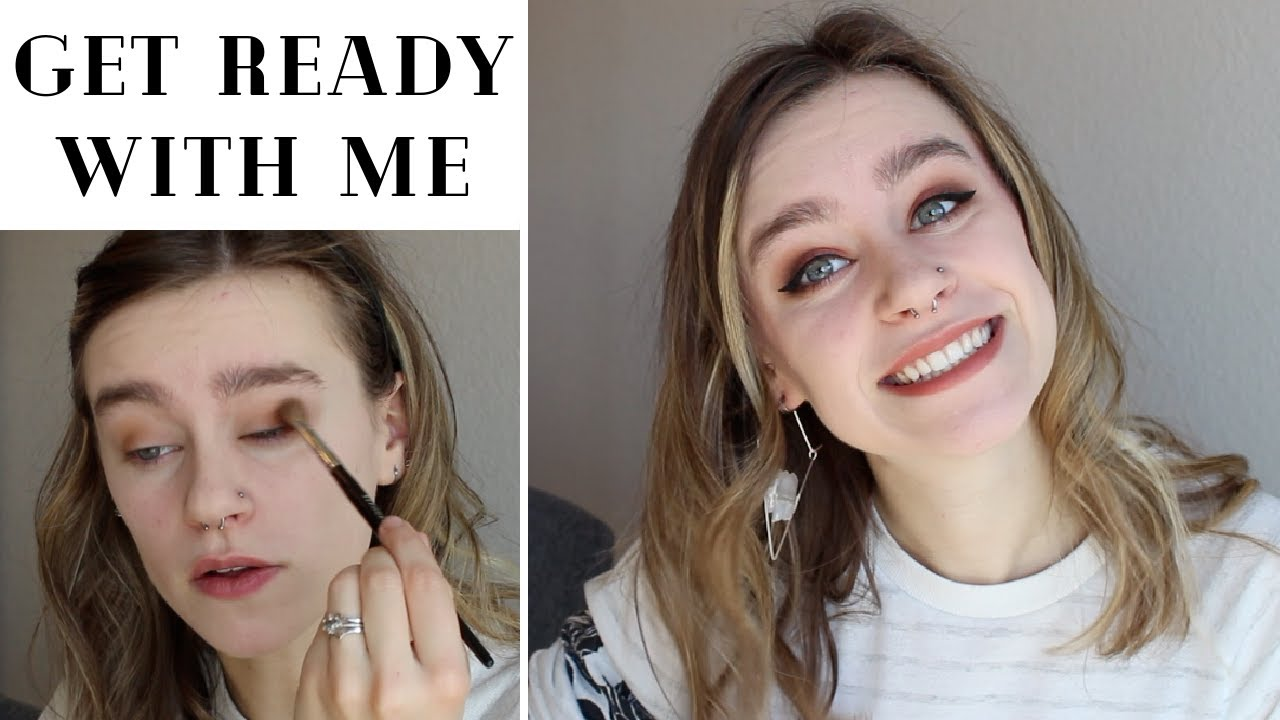 get ready with me + life updates