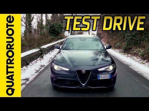 Nuova Alfa Romeo Giulia Veloce Turbo Diesel: la prova in montagna   Quattroruote