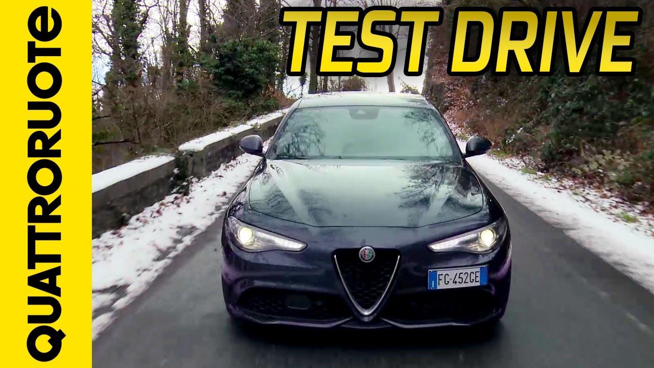 nuova alfa romeo giulia veloce turbo diesel: la prova in montagna