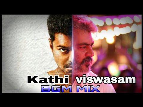 Kathi + Viswasam Bgm Mix /Thala Ajith/ Thalapathy Vijay / AD Creations.